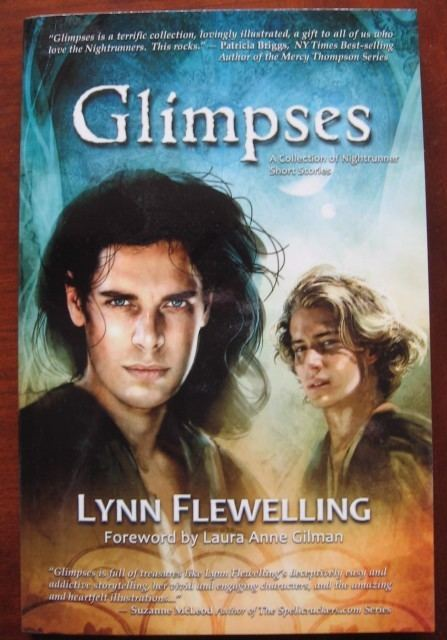 Lynn Flewelling OFFERED Signed personalized copy of GLIMPSESNightrunner