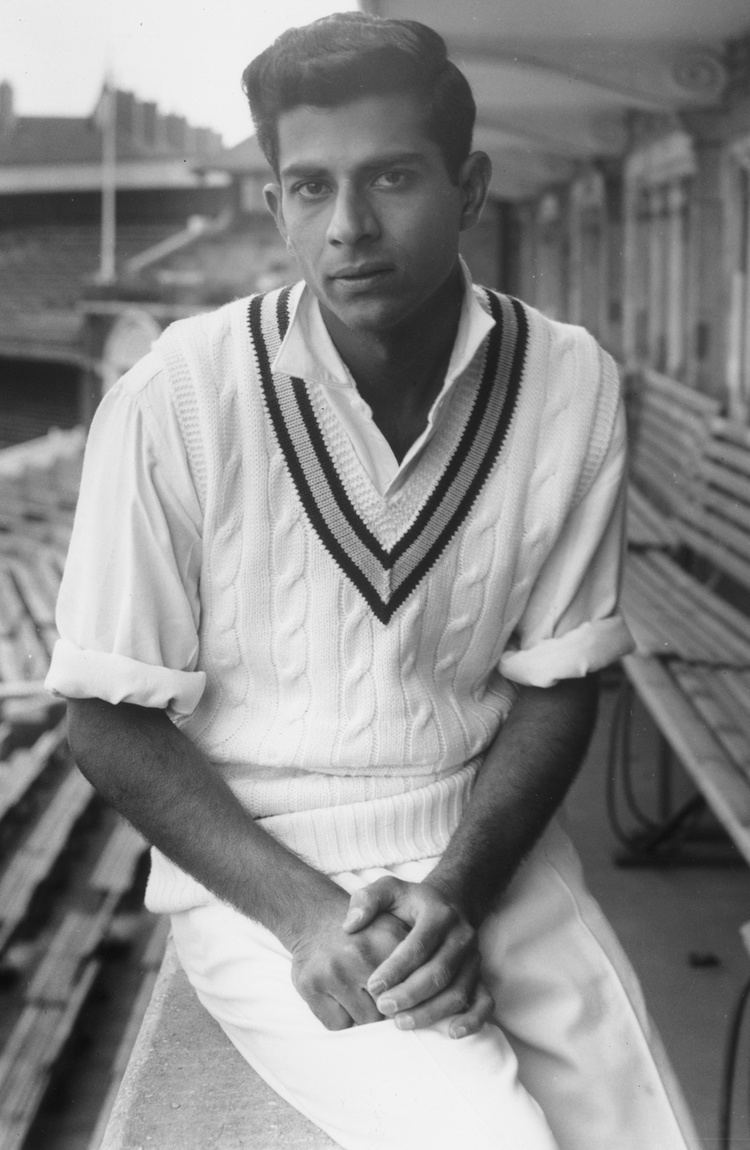 M. L. Jaisimha ML Jaisimha made his Test debut at Lord39s May 1 1959