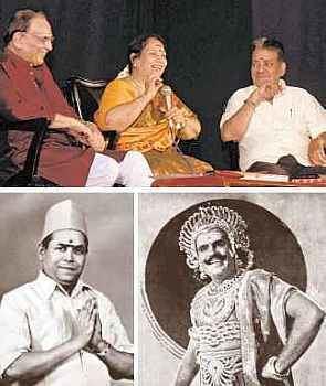 M. N. Rajam ARS in conversation with MN Rajam and AL Raghavan Paperless