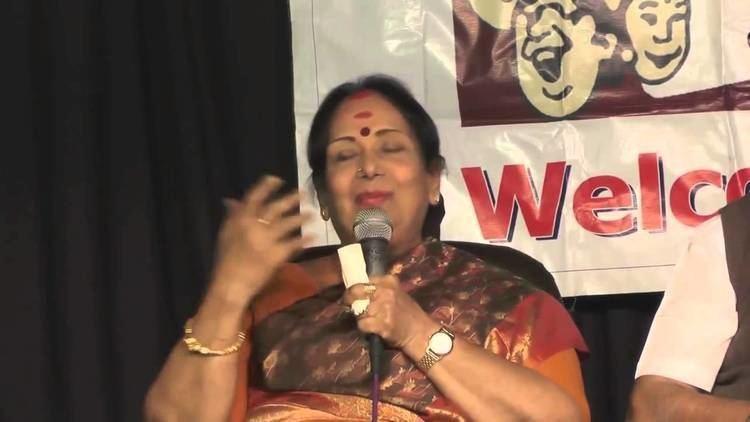 M. N. Rajam Humour Club 2015 Actor MN Rajam Singer AL Raghavan YouTube