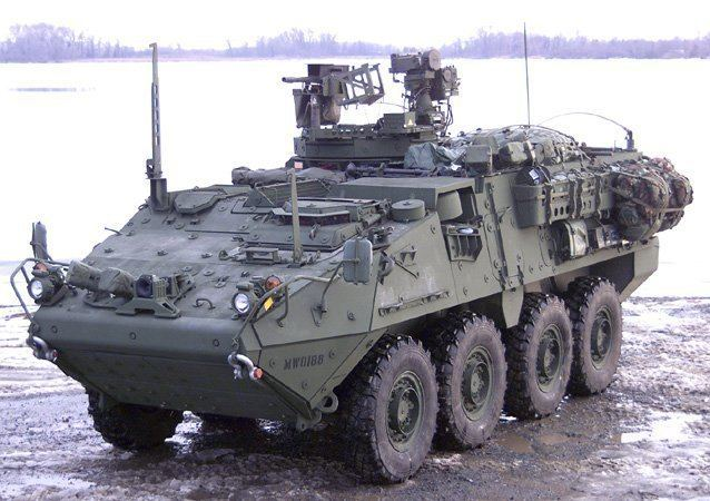 M1131 Fire Support Vehicle