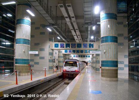 M2 (Istanbul Metro) UrbanRailNet gt Europe gt Turkey gt ISTANBUL Metro