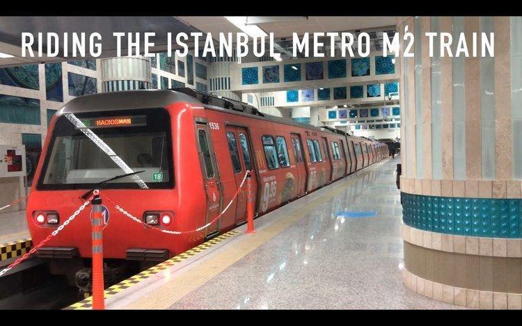 M2 (Istanbul Metro) Riding the Istanbul Metro M2 Train YouTube
