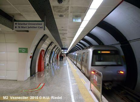 M2 (Istanbul Metro) UrbanRailNet gt Europe gt Turkey gt ISTANBUL Metro M2