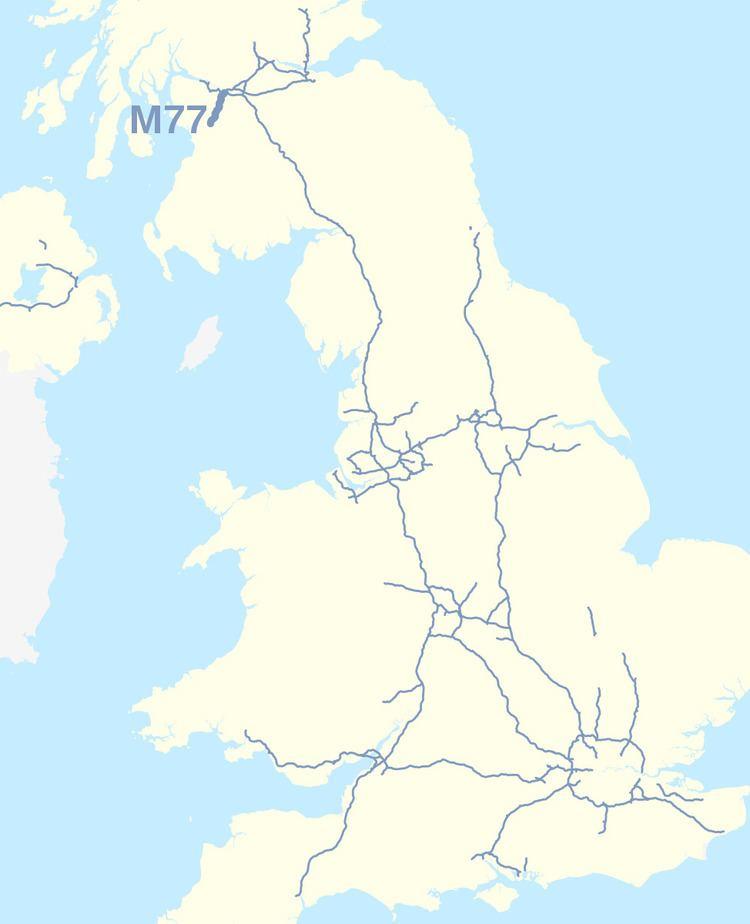 M77 motorway