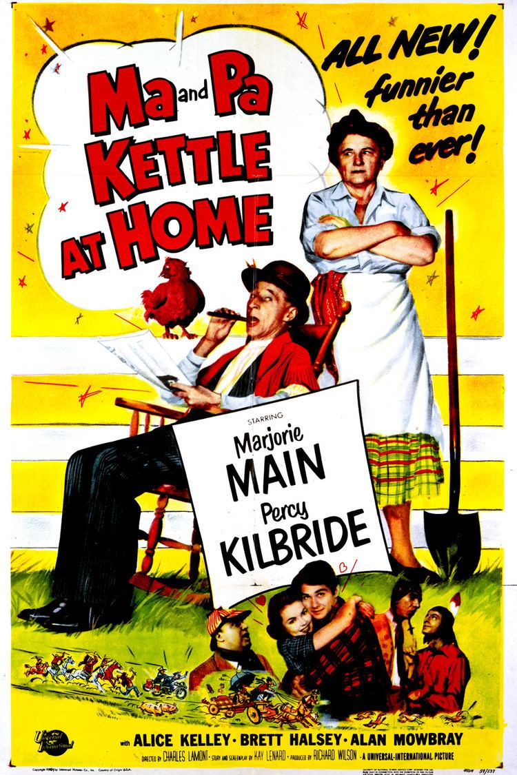 Ma and Pa Kettle at Home wwwgstaticcomtvthumbmovieposters38577p38577