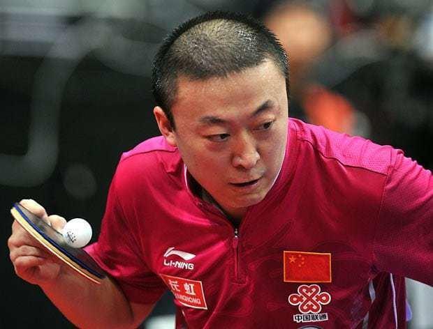 Ma Lin (table tennis) Keeping an eye on the ball the 2011 World Table Tennis