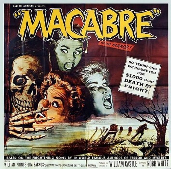 Macabre (1958 film) Macabre 1958 3B Theater Poster Archive