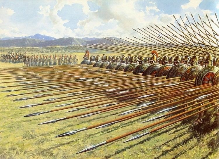 Macedonian phalanx Classical Greece and Ancient Greek Warfare 2016 60 The