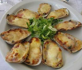 Machas a la parmesana Receta Casera Machas a la Parmesana