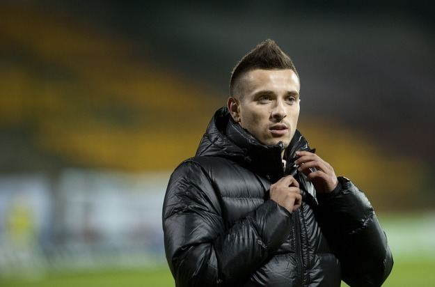 Maciej Makuszewski Maciej Makuszewski i Zaur Sadajew w Lechii Gdask Gazeta