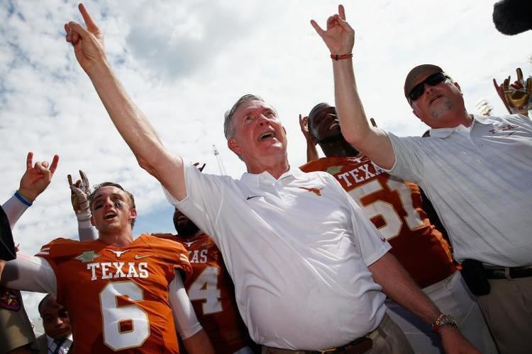 Mack Brown Texas Football A Timeline of Mack Browns Career at Texas