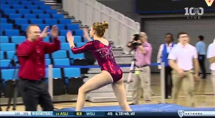 Mackenzie Brannan Mackenzie Brannan Alabama 2016 Vault vs UCLA 99 YouTube