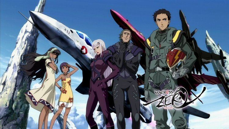 Macross Zero Anime 2002 Review