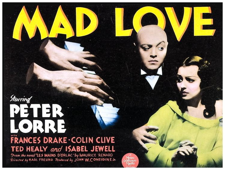 Mad Love (1935 film) Film Review Mad Love 1935 HNN