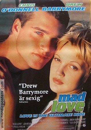 Mad Love (1995 film) Mad Love poster 1995 Chris ODonnell original