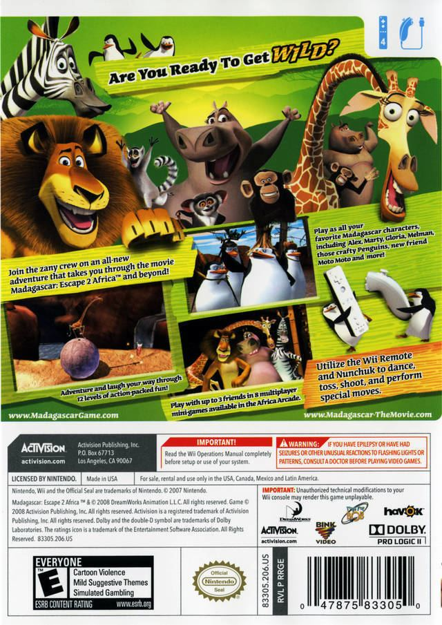 Madagascar Escape 2 Africa Video Game Alchetron The Free Social Encyclopedia