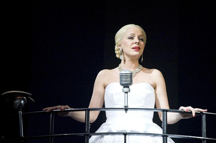 Madalena Alberto EVITA a success at Milton Keynes Theatre this week