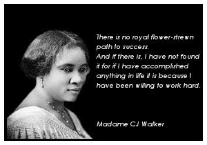 Madam C. J. Walker The Struggles Triumph of Madam CJ Walker The Struggle