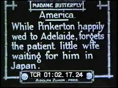 Madame Butterfly (1915 film) Madame Butterfly 1915 Mary Pickford lost silent film YouTube