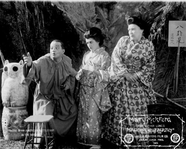 Madame Butterfly (1915 film) Yellowface Film Review 4 Madame Butterfly fumanchucomplex