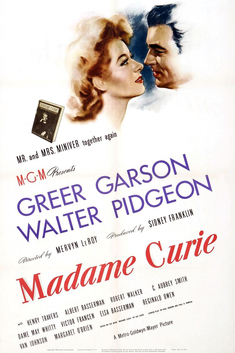 Madame Curie (film) wwwgstaticcomtvthumbmovieposters2154p2154p