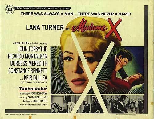 Madame X (1966 film) Madame X movie posters at movie poster warehouse moviepostercom