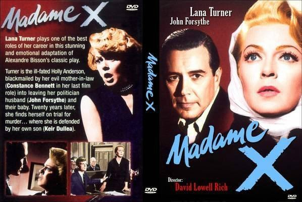 Madame X (1966 film) MADAME X 1966 MOVIE DVD LANA TURNERJOHN FORSYTHE for sale