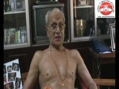 Madavoor Vasudevan Nair Madavoor Vasudevan Nair Part1 YouTube