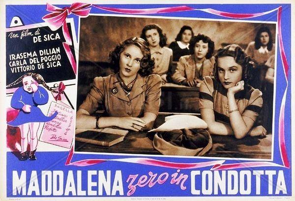 Maddalena, Zero for Conduct Maddalena zero in condotta Maddalena Zero for Conduct 1940