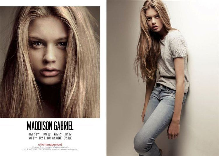 Maddison Gabriel Maddison Gabriel the Fashion Spot