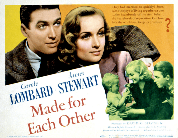 Made for Each Other (1939 film) The Hitless Wonder Movie Blog MADE FOR EACH OTHER