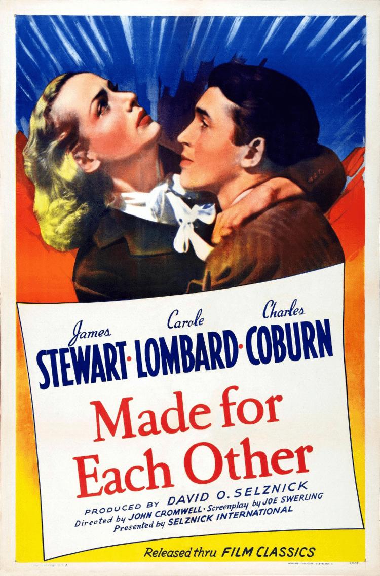 Made for Each Other (1939 film) Made for Each Other 1939 film Wikipedia