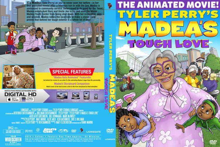 Madea's Tough Love Tyler Perrys Madeas Tough Love DVD Cover Label 2015 R0 Custom Art