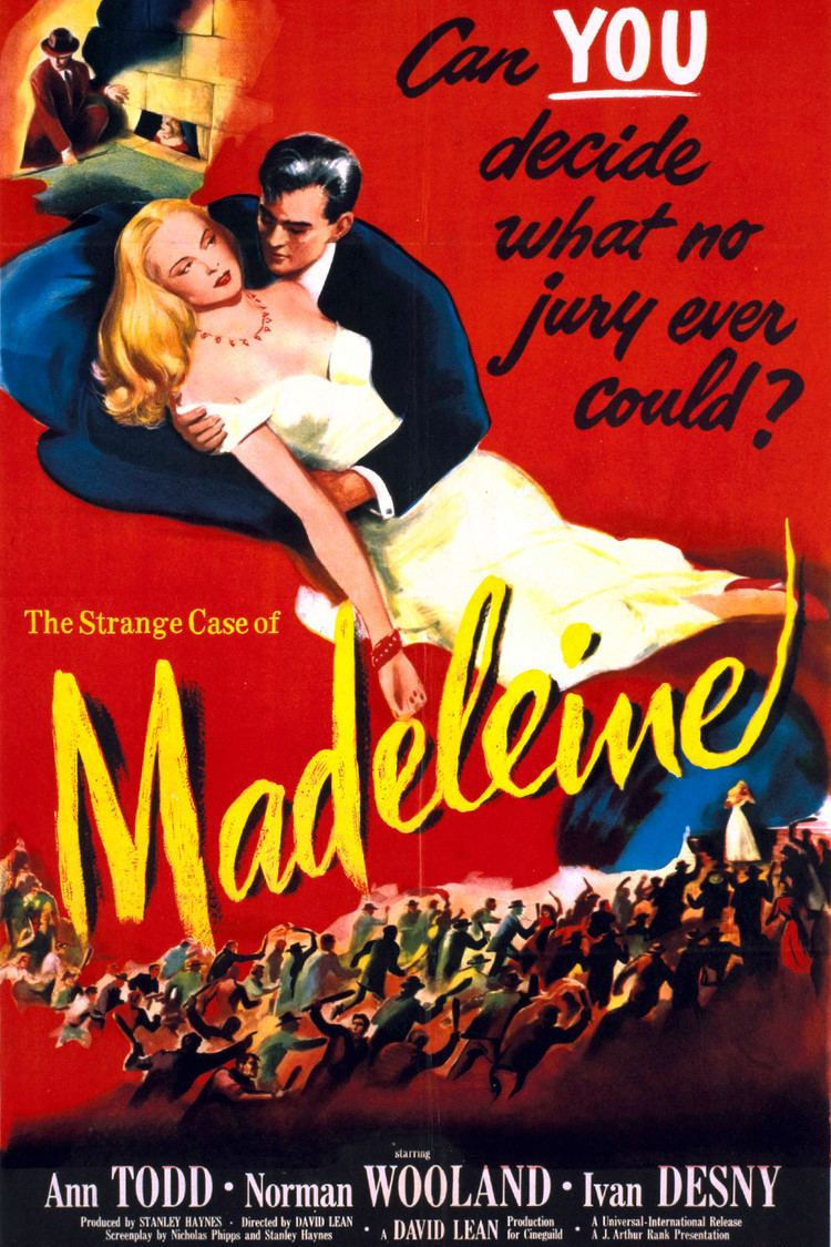 Image result for Madeleine (1950)