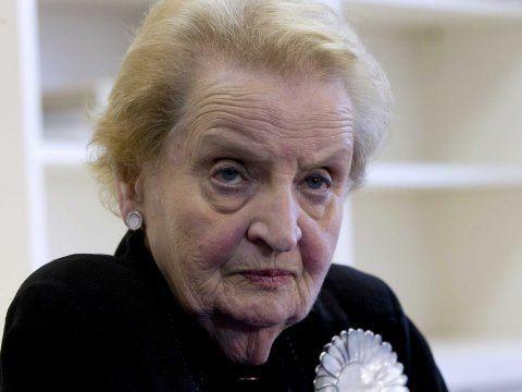 Madeleine Albright Madeleine Albright Tweet To Conan Business Insider