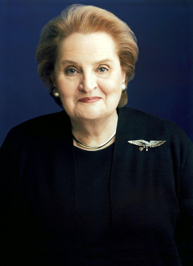 Madeleine Albright Madeleine Albright Wikipedia the free encyclopedia