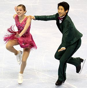 Madeline Edwards Madeline Edwards and Zhao Kai Pang win novice gold