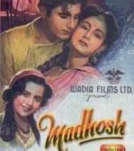 Madhosh (1951 film) movie poster