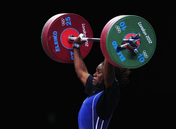 Madias Nzesso Madias Nzesso Photos Photos Olympics Day 7 Weightlifting Zimbio