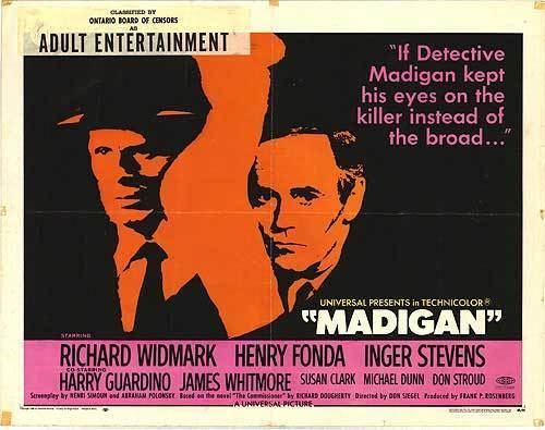 Madigan The CinemaScope Cat Madigan 1968