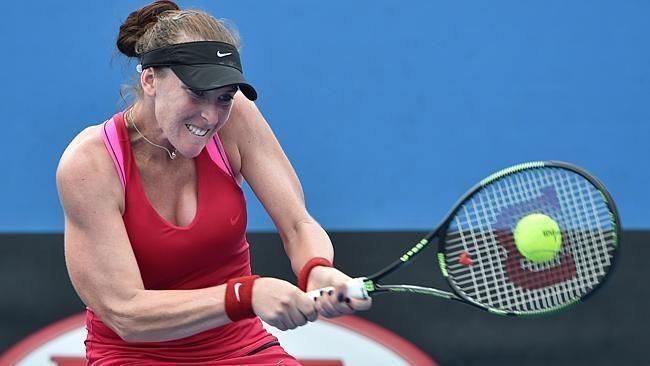 Madison Brengle Australian Open 2015 Madison Brengle making most of