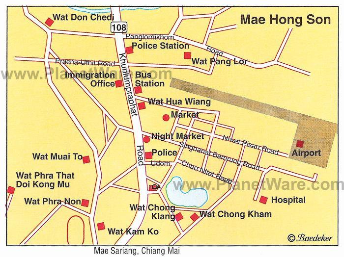 Mae Hong Son Tourist places in Mae Hong Son