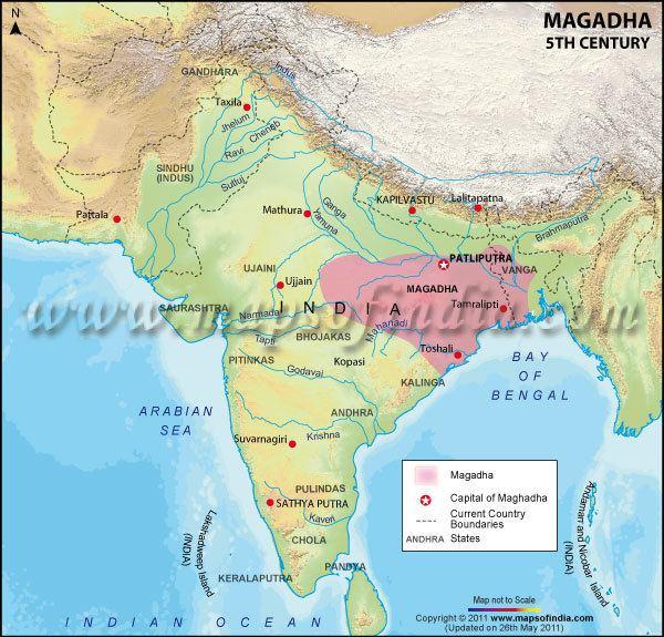 Magadha Magadha 5th Century