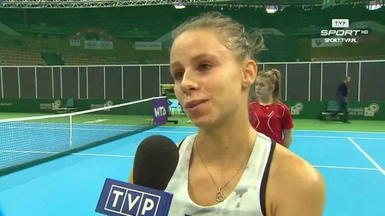 Magda Linette WTA Katowice Magda Linette quotMusz by pewna siebiequot YouTube