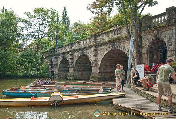 Magdalen Bridge The Magdalen Bridge Boathouse