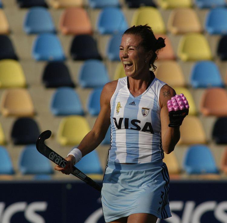 Magdalena Aicega Magdalena Aicega festeja el segundo gol argentinojpgm1384800584