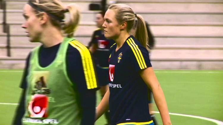 Magdalena Eriksson Magdalena Eriksson infr matchen mot Skottland YouTube