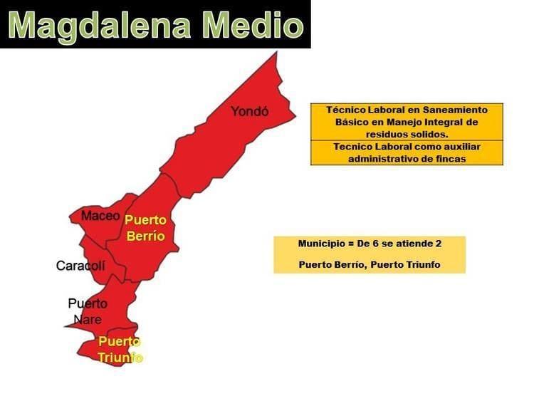 Magdalena Medio Antioquia Tecnolgico de Antioquia Regionalizacin