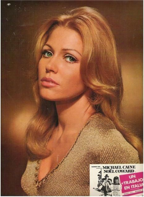 Maggie Blye margaret blye The Italian Job 1969 Movie Actresses of the 50s